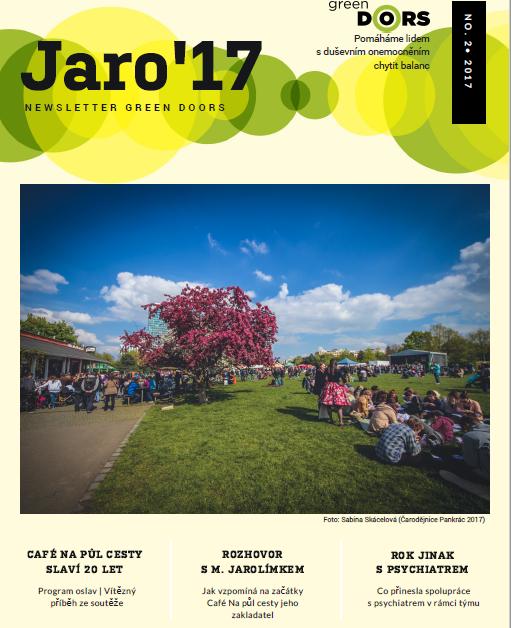 newsletter jaro 17