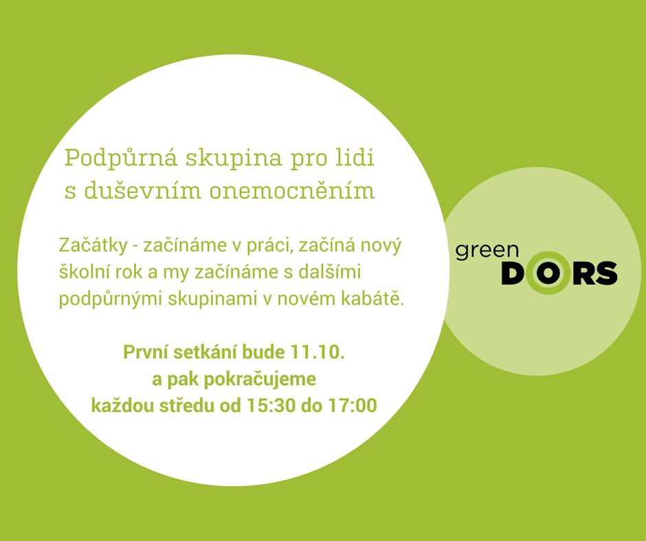 podpůrná skupina - green doors